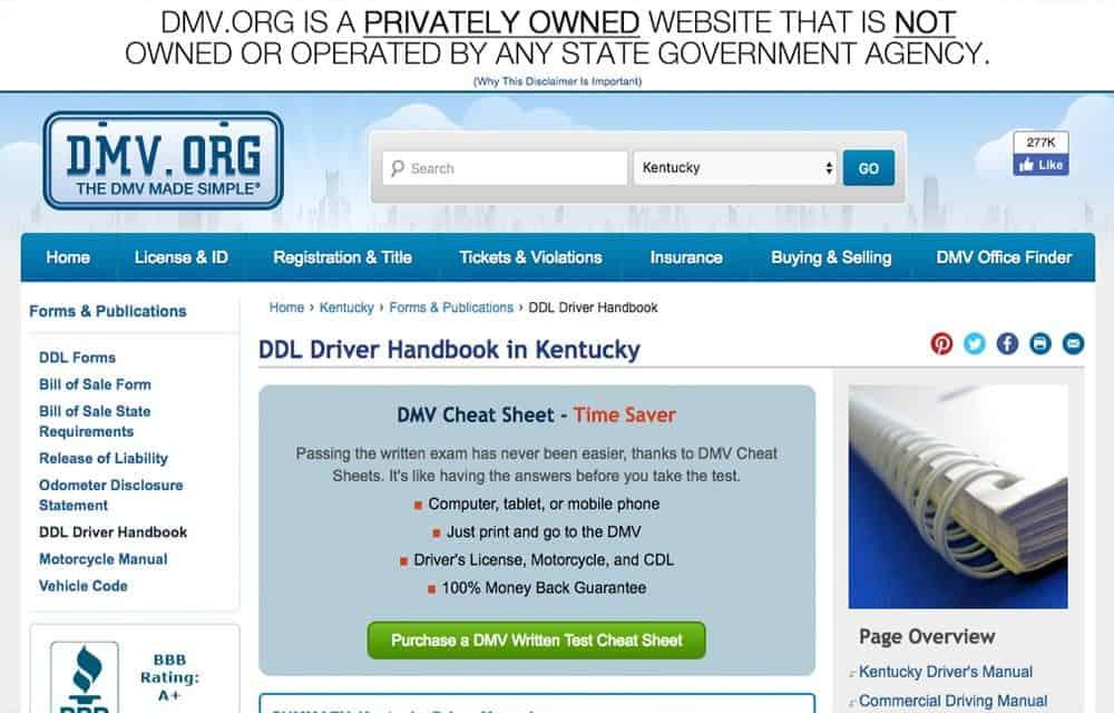 ky driver Kentucky driver handbook - get your kentucky driver handbook.