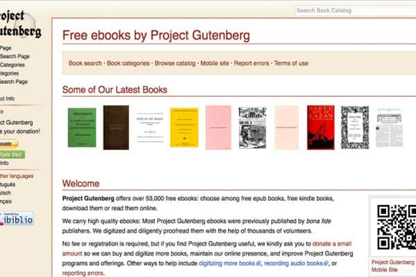 Project Gutenburg